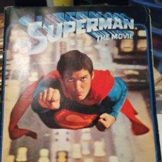 Coleccionismo Álbumes: ALBUM DE CROMOS SUPERMAN THE MOVIE EDITORIAL FHER.. Lote 206223497