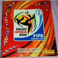 Coleccionismo Álbumes: ABUM DE CROMOS SOUTH ÁFRICA 2010. FIFA WORLD CUP. OFFICIAL LICENSED STICKER ALBUM. MANUFACTURED UNDE. Lote 206504692