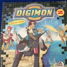 Coleccionismo Álbumes: ALBUM DIGIMON 2 INCOMPLETO. Lote 206591622