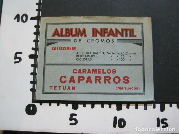 Coleccionismo Álbumes: ALBUM INFANTIL DE CROMOS-VACIO-PUBLICIDAD CARAMELOS CAPARROS-TETUAN-MARRUECOS-VER FOTOS-(71.285) - Foto 7 - 207225633
