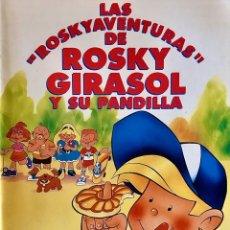 Coleccionismo Álbumes: ALBUM NUEVO GALLETAS ROSKY GIRASOL Y SU PANDILLA LAS ROSKYAVENTURAS RIO EL ORO DEL SOL. Lote 207331825