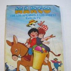 Coleccionismo Álbumes: MARCO-ALBUM DE CROMOS INCOMPLETO-EDITORIAL FHER-VER FOTOS-(V-20.432). Lote 207664371