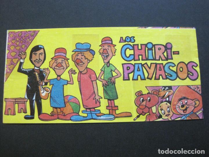 Coleccionismo Álbumes: LOS CHIRI PAYASOS-ALBUM DE CROMOS INCOMPLETO-VER FOTOS-(V-20.433) - Foto 2 - 207664493