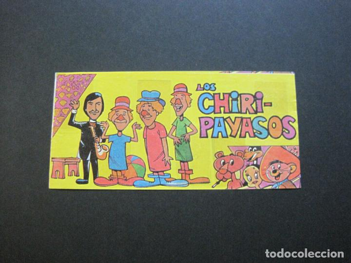 LOS CHIRI PAYASOS-ALBUM DE CROMOS INCOMPLETO-VER FOTOS-(V-20.433) (Coleccionismo - Cromos y Álbumes - Álbumes Incompletos)