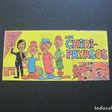 Coleccionismo Álbumes: LOS CHIRI PAYASOS-ALBUM DE CROMOS INCOMPLETO-VER FOTOS-(V-20.433). Lote 207664493
