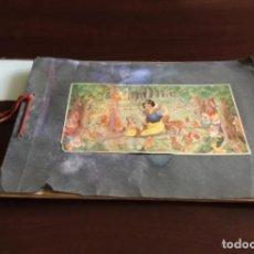 Coleccionismo Álbumes: ÁLBUM BLANCANIEVES AÑOS 40 CON 64 CROMOS DE 100. Lote 208123506