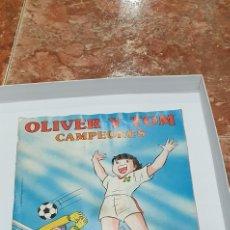 Coleccionismo Álbumes: ALBUM OLIVER Y TOM CAMPEONES -ALBUM OLIVER Y BENJI 1987 DE PANINI -ALBUM DE CROMOS OLIVER Y TOM. Lote 208200981