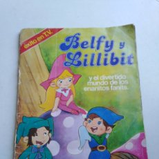 Coleccionismo Álbumes: ÁLBUM DE CROMOS BELFY Y LILLIBIT INCOMPLETO. Lote 209113663