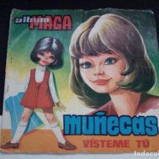 Coleccionismo Álbumes: ANTIGUO ALBUM DE CROMOS MAGA. MUÑECAS. VÍSTEME TÚ. VER DESCRIPCION. Lote 209161216