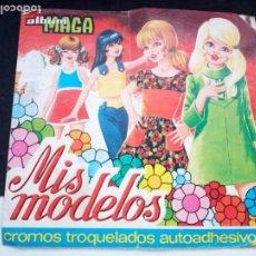 Coleccionismo Álbumes: ANTIGUO ALBUM DE CROMOS MAGA. MIS MODELOS. VER DESCRIPCION. Lote 209161417