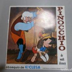 Coleccionismo Álbumes: ALBUM PLANCHA VACIO PINOCCHIO DE CLESA EDITORIAL FHER AÑO 1974. Lote 209348997