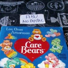 Coleccionismo Álbumes: ÁLBUM INCOMPLETO OSOS AMOROSOS PANINI CARE BEARS. Lote 209869705