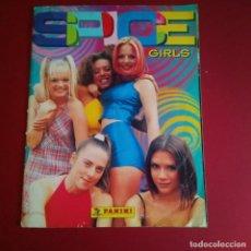 Coleccionismo Álbumes: ALBUM DE CROMOS - SPICE GIRLS CON 54 CROMOS. Lote 210482996
