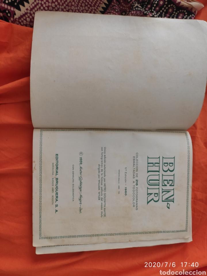 Coleccionismo Álbumes: Album incompleto ben hur - Foto 2 - 210580342