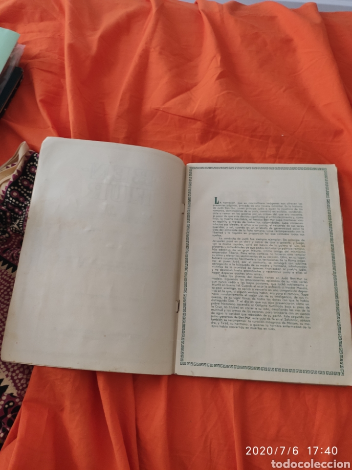 Coleccionismo Álbumes: Album incompleto ben hur - Foto 3 - 210580342