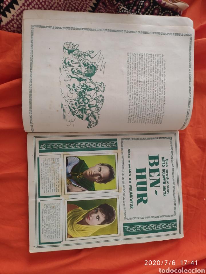 Coleccionismo Álbumes: Album incompleto ben hur - Foto 4 - 210580342