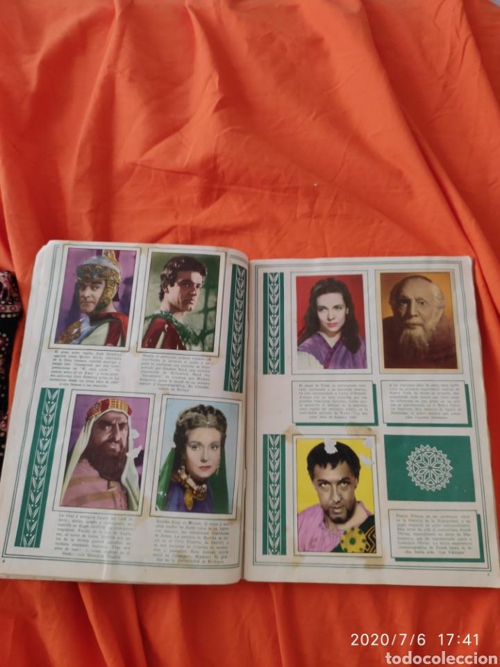 Coleccionismo Álbumes: Album incompleto ben hur - Foto 5 - 210580342