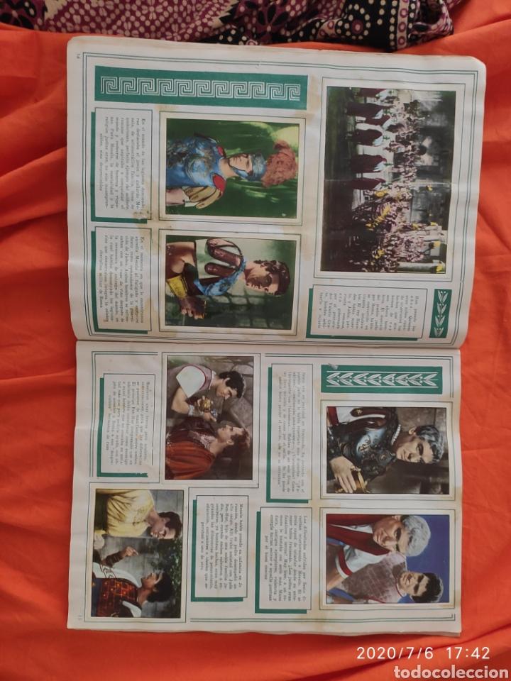 Coleccionismo Álbumes: Album incompleto ben hur - Foto 9 - 210580342