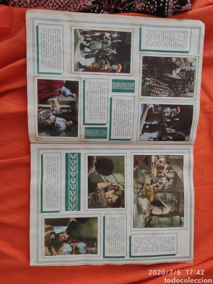 Coleccionismo Álbumes: Album incompleto ben hur - Foto 11 - 210580342