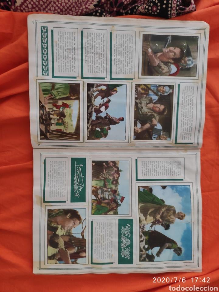 Coleccionismo Álbumes: Album incompleto ben hur - Foto 12 - 210580342