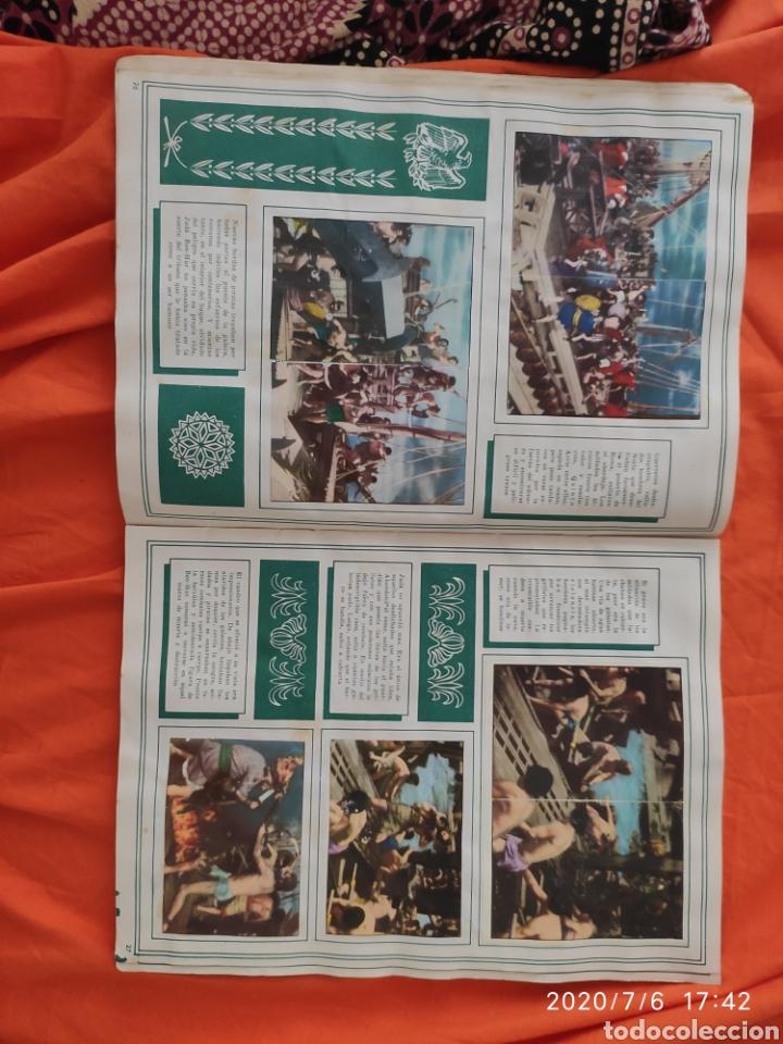 Coleccionismo Álbumes: Album incompleto ben hur - Foto 15 - 210580342