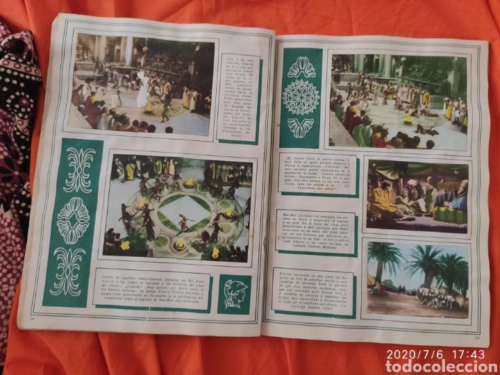 Coleccionismo Álbumes: Album incompleto ben hur - Foto 19 - 210580342