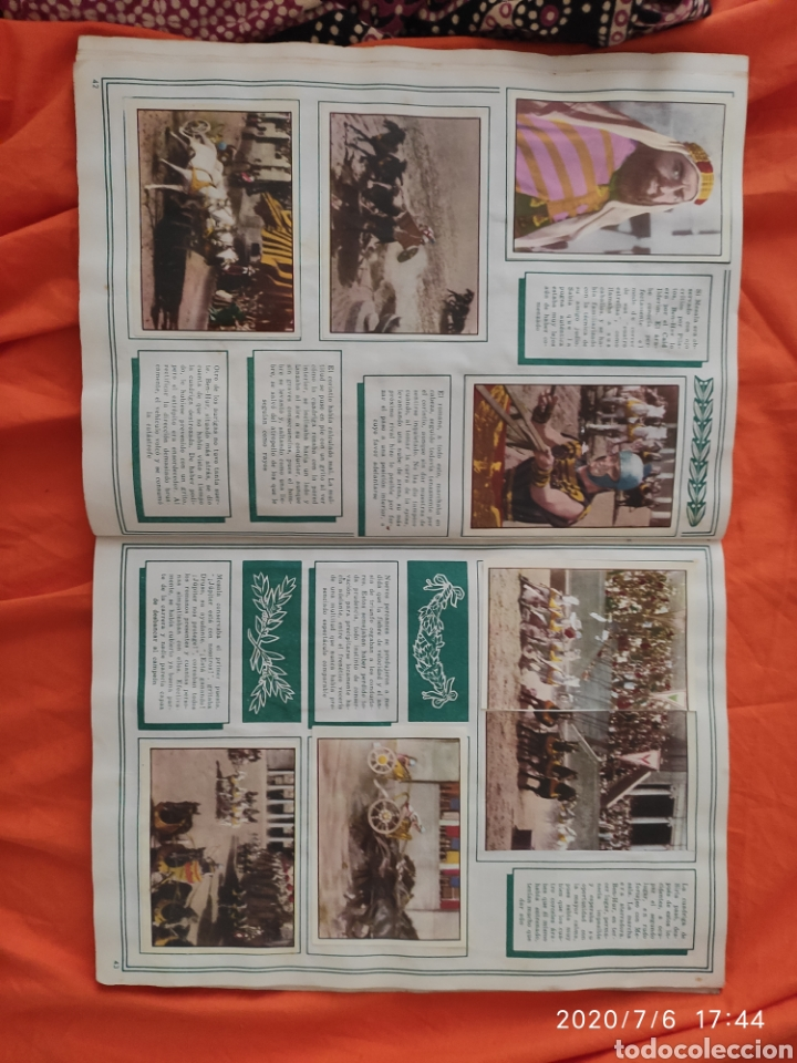 Coleccionismo Álbumes: Album incompleto ben hur - Foto 23 - 210580342