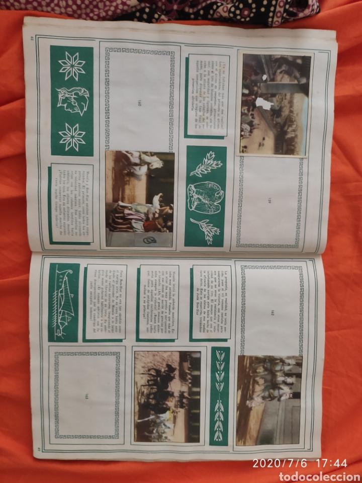 Coleccionismo Álbumes: Album incompleto ben hur - Foto 26 - 210580342