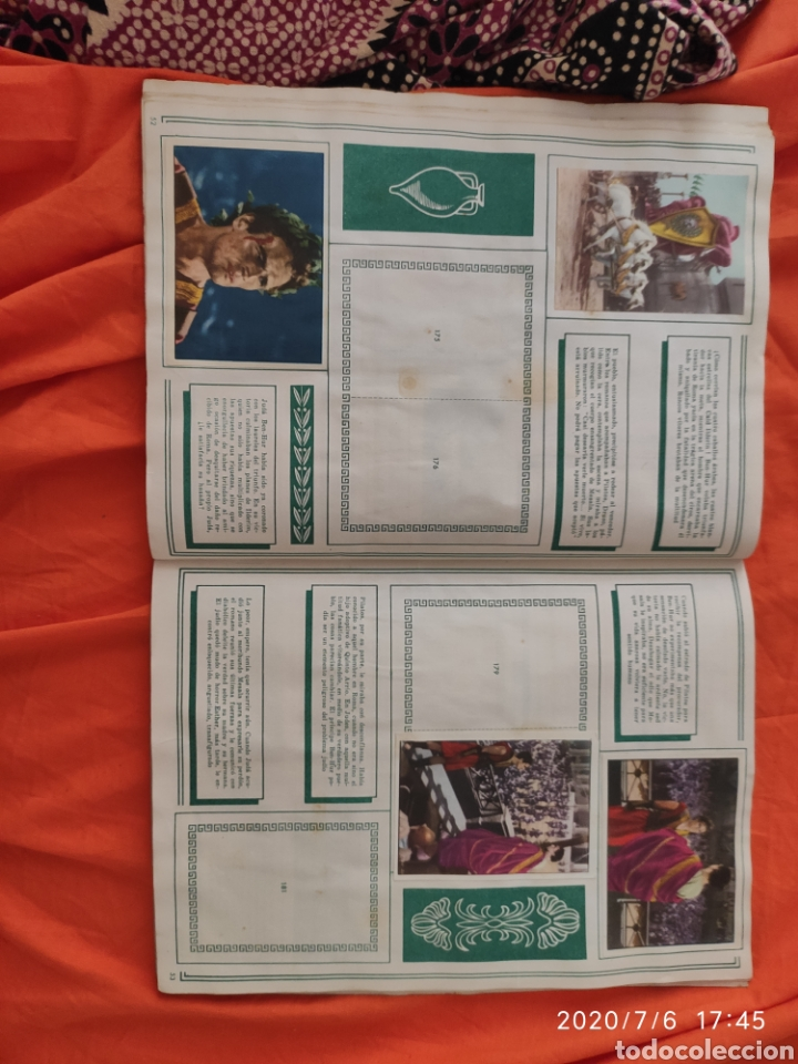Coleccionismo Álbumes: Album incompleto ben hur - Foto 27 - 210580342