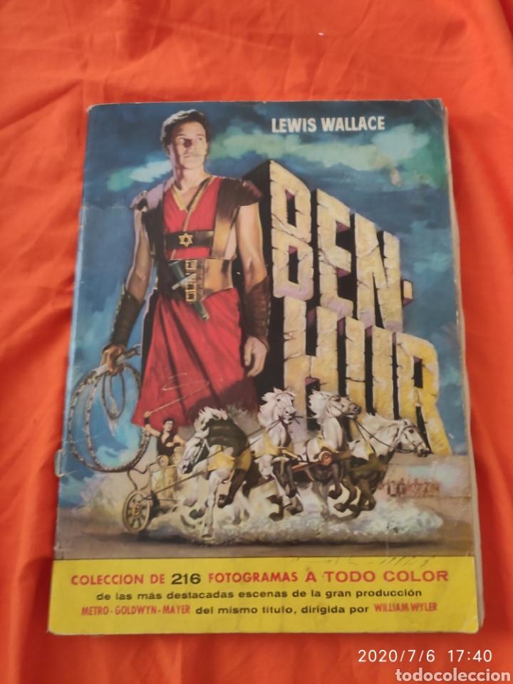ALBUM INCOMPLETO BEN HUR (Coleccionismo - Cromos y Álbumes - Álbumes Incompletos)