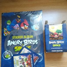 Coleccionismo Álbumes: ANGRY BIRDS SPACE ALBUM Y 50 SOBRES. Lote 210935961