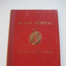 Coleccionismo Álbumes: ALBUM MUNDIAL-LAS JOYAS DEL CINEMA-CHOCOLATE MUNDIAL-ALBUM VACIO-VER FOTOS-(V-21.177). Lote 210961615