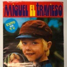 Coleccionismo Álbumes: MIGUEL EL TRAVIESO. ÁLBUM DE CROMOS. EDITORIAL FHER 1977. 153 CROMOS DE 180 (FALTAN 27).. Lote 211441195
