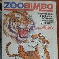 Coleccionismo Álbumes: ZOO BIMBO ZOOBIMBO ALBUM DE CROMOS CASI VACIO CON 11 CROMOS MUY BUEN ESTADO. Lote 211452439
