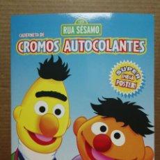 Coleccionismo Álbumes: ALBUM VACÍO BARRIO SÉSAMO PANINI CON MEGA POSTER DE COCO. Lote 211499067