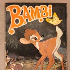 Coleccionismo Álbumes: BAMBI, WALT DISNEY. EDITORIAL FHER 1970. CON 116 CROMOS DE 210.. Lote 211514172