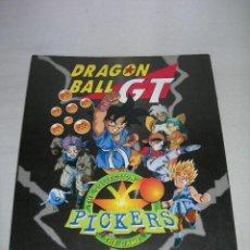 Coleccionismo Álbumes: DIFÍCIL ÁLBUM VACÍO DRAGON BALL GT PICKERS DE MAGIC BOX INT. AÑO 1996 - BOLA DE DRAGÓN -. Lote 211617911