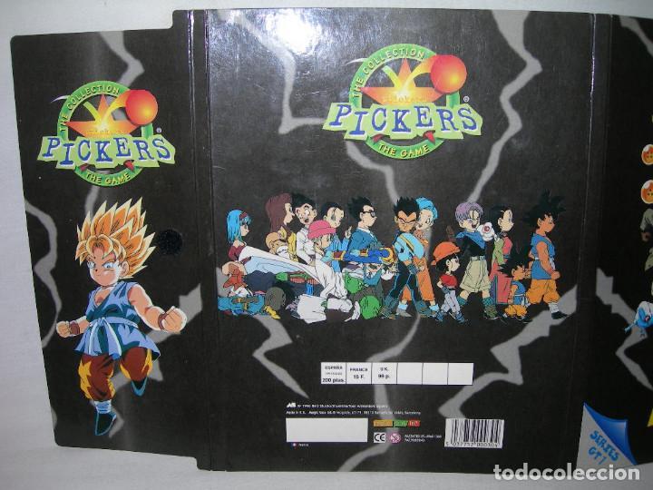 Coleccionismo Álbumes: DIFÍCIL ÁLBUM VACÍO DRAGON BALL GT PICKERS DE MAGIC BOX INT. AÑO 1996 - BOLA DE DRAGÓN - - Foto 7 - 211617911
