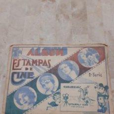 Coleccionismo Álbumes: ANTIGUO ALBUM DE CINE DE PRINCIPIOS DE 1900 .ENVIO GRATUITO. Lote 211831910