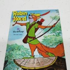 Coleccionismo Álbumes: ALBUM CROMOS ANTIGUO ROBIN HOOD..FHER..AÑO 1974..WALT DISNEY.. INCOMPLETO.... Lote 211833871