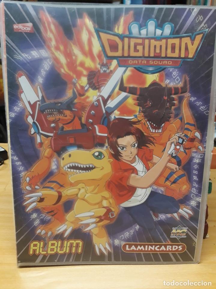 ALBUM DE CROMOS DIGIMON CON 25 LAMINCARDS (Coleccionismo - Cromos y Álbumes - Álbumes Incompletos)
