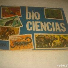 Coleccionismo Álbumes: BIO CIENCIAS .KEISA EDICIONES 1972. TIENE 168 CROMOS DE LOS 259. DIFICIL !!!!. Lote 212328013