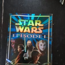 Coleccionismo Álbumes: STAR WARS EPISODE I STICKER MERLIN COLLECTION. Lote 212630500