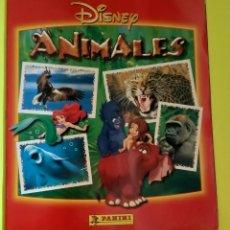 Coleccionismo Álbumes: ÁLBUM INCOMPLETO DE ANIMALES DISNEY DE PANINI, FALTAN 32 CROMOS. Lote 212748090