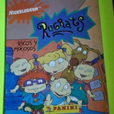 Coleccionismo Álbumes: ÁLBUM INCOMPLETO DE RUGRATS RICOS Y MOCOSOS DE PANINI, FALTAN 169 CROMOS. Lote 212780055