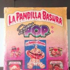 Coleccionismo Álbumes: ALBUM CROMOS LA PANDILLA BASURA REVISTA SUPER POP GARBAGE PAIL KIDS STICKER ALBUM FALTAN 15. Lote 213002315