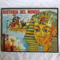Coleccionismo Álbumes: ALBUM DE CROMOS HISTORIA DEL MUNDO FHER CON 108 CROMOS. Lote 213342496