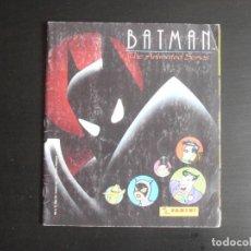 Coleccionismo Álbumes: ALBUM DE CROMOS, BATMAN THE ANIMATED SERIES, 1993, FALTAN 6 CROMOS, PANINI. Lote 213562792