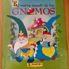 Coleccionismo Álbumes: ÁLBUM PLANCHA VACÍO DE EL NUEVO MUNDO DE LOS GNOMOS. Lote 213597737