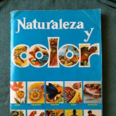Collezionismo Album: ALBUM NATURALEZA Y COLOR . EDIT. CAREN .SÓLO FALTAN 4 CROMOSEL. Lote 213645233